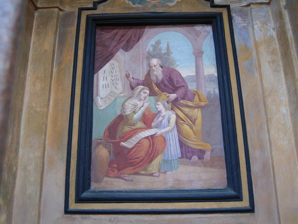 Particola Cappella Sant'Anna a Mezzegra, Lago di Como