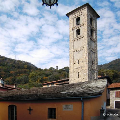 Chiesa di Ss. Agata e Sisinio a Ossuccio Lago di Como