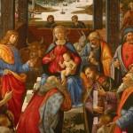 Adorazione dei Magi degli Innocenti, Domenico Ghirlandaio, 1485-1488 Galleria dello Spedale degli Innocenti a Firenze