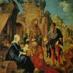Albrecht Dürer - Adorazione dei Magi, 1504 - Galleria degli Uffizi, Firenze